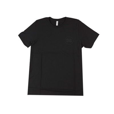 T-Shirt DIG Black Circle