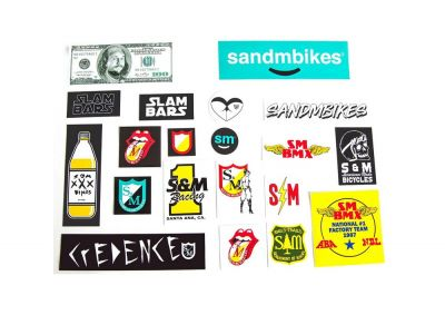Stickerset S&M 20-pack
